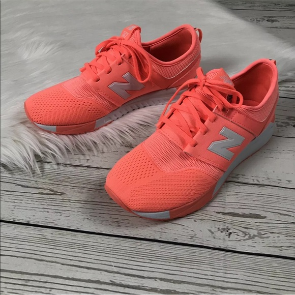 New Balance 247 Sneakers Neon Orange